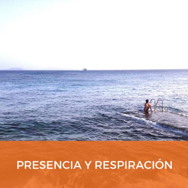 Meditación guiada, Presencia y respiración